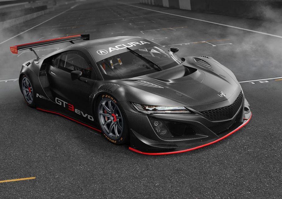 Gt3 Sport Honda Und Acura Zeigen Neue Nsx Evolutionsstufe