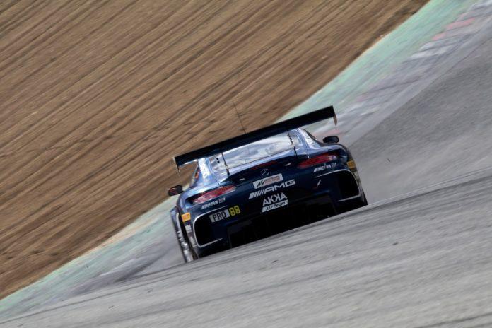 Mercedes-AMG GT3 AKKA ASP Brands Hatch