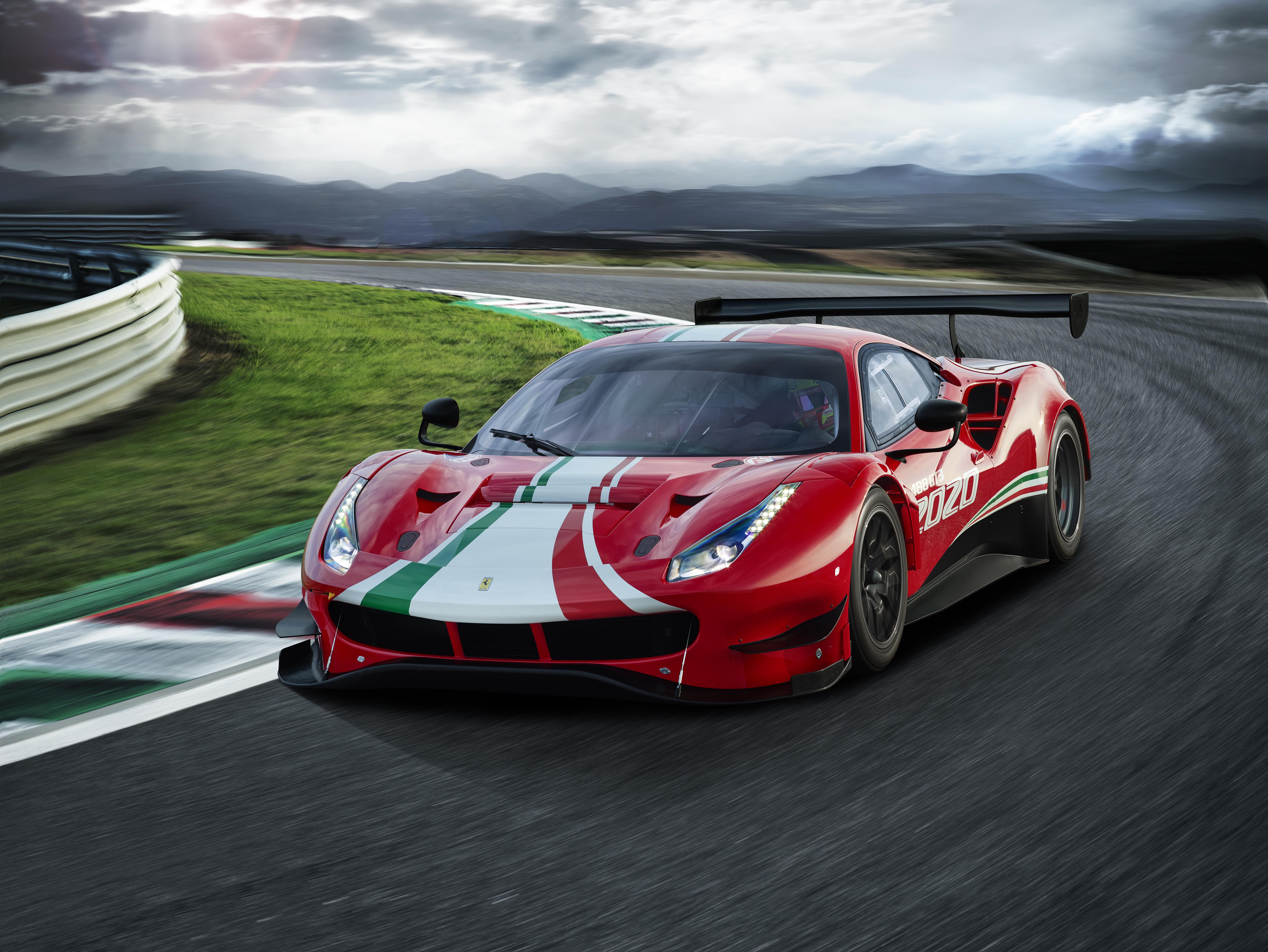 Fotostrecke Ferrari Zündet Zweite Evolutionsstufe Des 488 Gt3 Sportscar Info De
