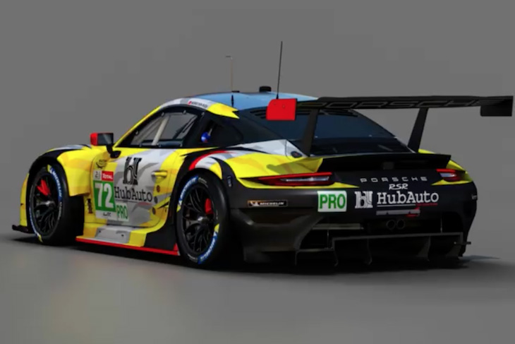 Le Mans: HubAuto Racing benennt GTE-Pro-Trio
