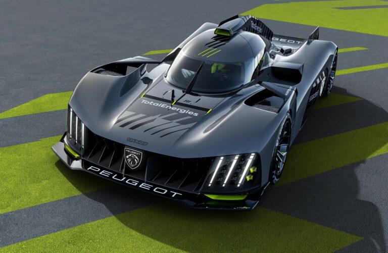 Le Mans: Peugeot präsentiert 9X8 Hypercar