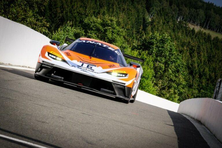 GT2 in Spa-Francorchamps: KTM erringt Dreifachsieg