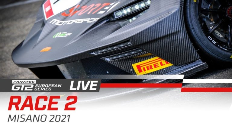 Livestream: GT2 European Series in Misano – Rennen 2