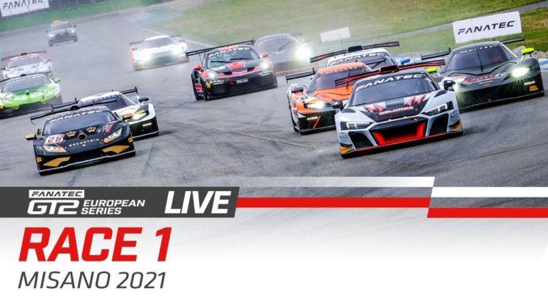 Livestream: GT2 European Series in Misano – Rennen 1
