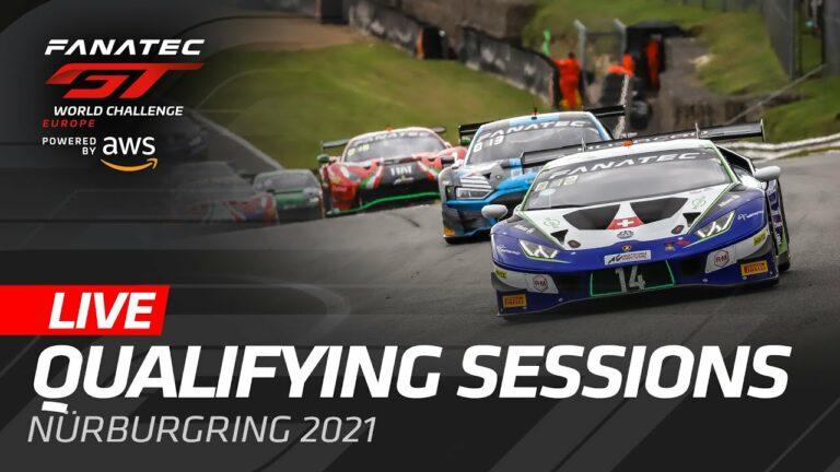 Livestream: GT World Challenge Endurance – Nürburgring – Qualifikation